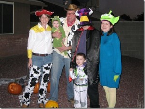 Toy Story Family Cosumes