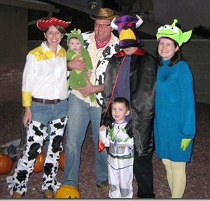 A Toy Story Halloween