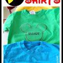 DIY Custom Disney Shirts