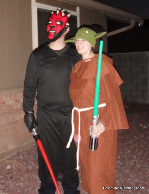 Darth Maul and Yoda Costume