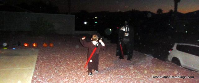 Darth Vader vs. Jedi Quinn