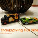 DIY Thanksgiving Hot Wheels!