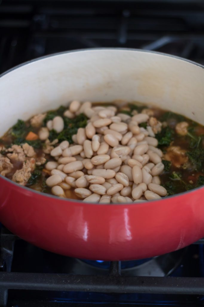 White Bean and Kale Soup Ingredients