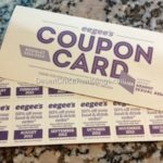 Thrifty Treasure: Eegee's Annual 50% Coupon Book!