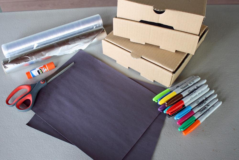 DIY Solar Oven Supplies