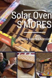 Solar Oven Smores