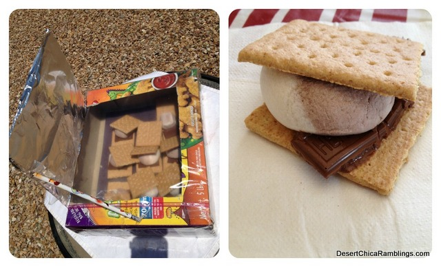 Solar Oven S'mores