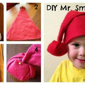 How to make a Mr. Smee hat {DIY Halloween Costume}