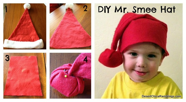 Mr Smee Hat DIY