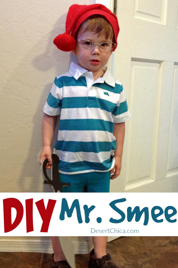DIY Mr. Smee Costume