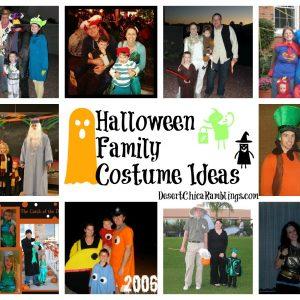 Family Halloween Costumes Roundup