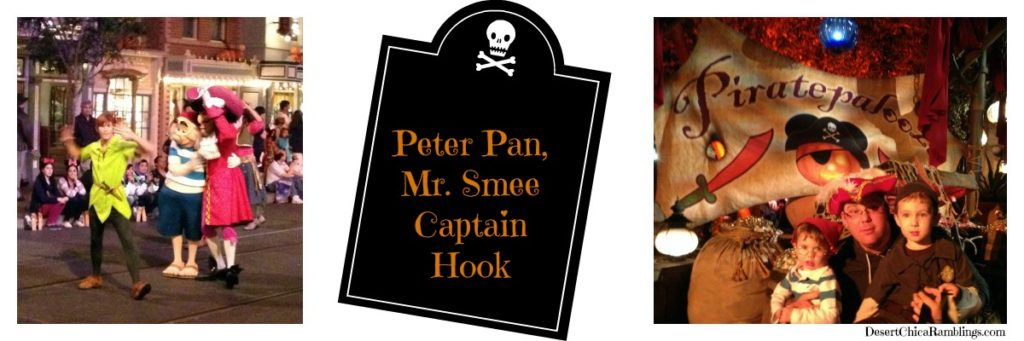 Peter Pan Smee Hook Times Two Disneyland