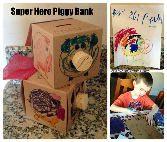 Super Hero Piggy Bank 2
