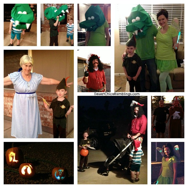 Neverland Family Costume Fun