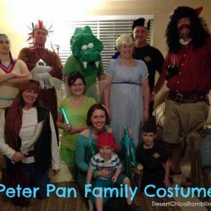 Peter Pan and the Neverland Crew Halloween 2012