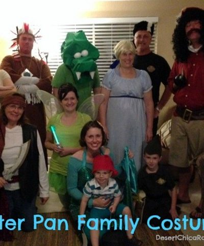 Peter Pan and the Neverland Crew Halloween 2012