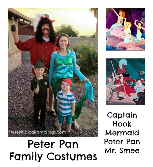 Peter Pan Neverland Family