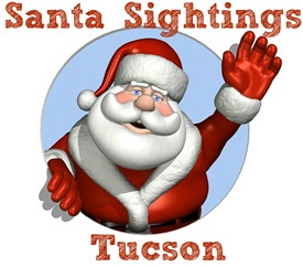 Tucson Santa Claus Sightings and Holiday Events 2012
