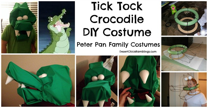 Tick Tock Crocodile Peter Pan DIY Costume