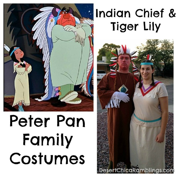 Tiger Lily and Indian Chief