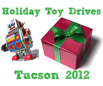 Tucson Toy Drive Tucson 2012 Button