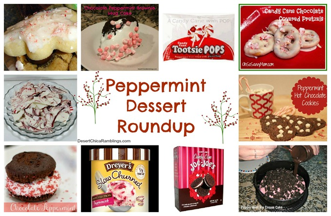 Christmas Peppermint Treat Round Up
