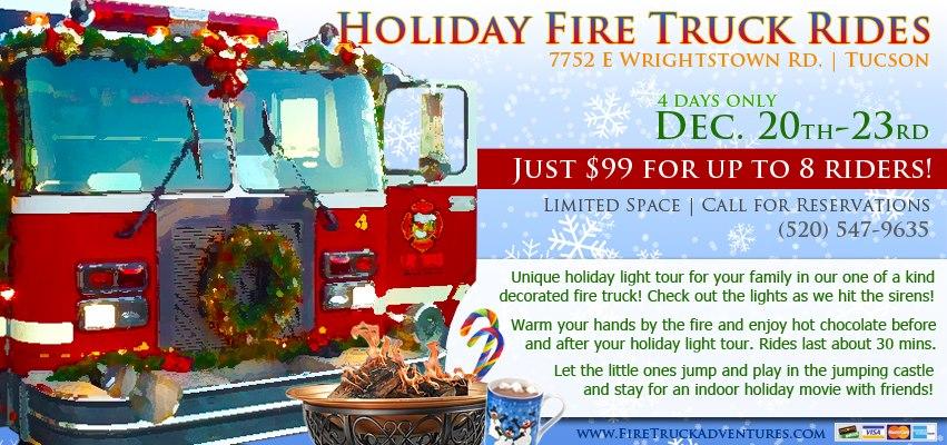 Rent Fire Truck Tucson