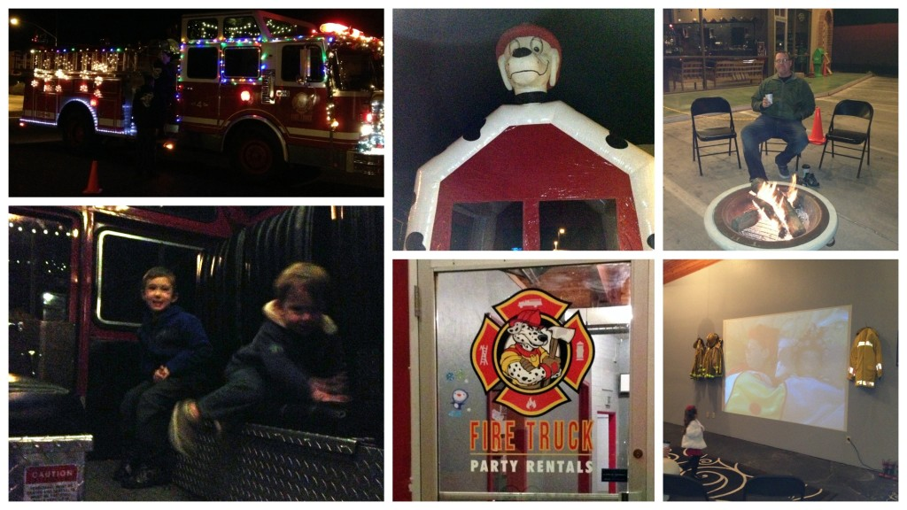 Fire Truck Holiday Lights Tour Tucson