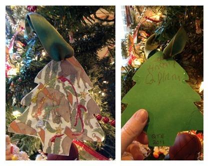 Javelina Cactus Homemade Ornament