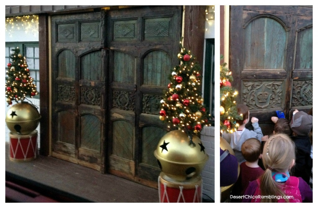 North Pole Experience Santas Workshop Doors Review