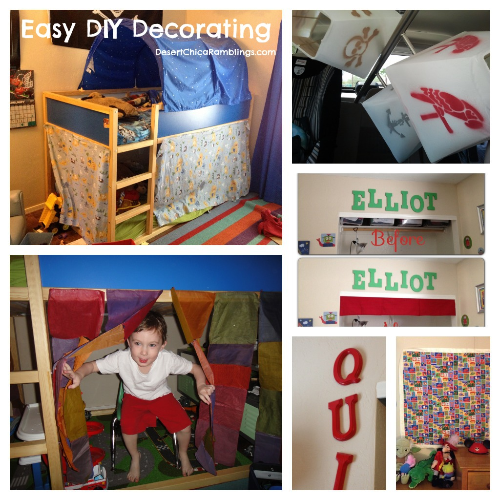 Easy DIY Decorating