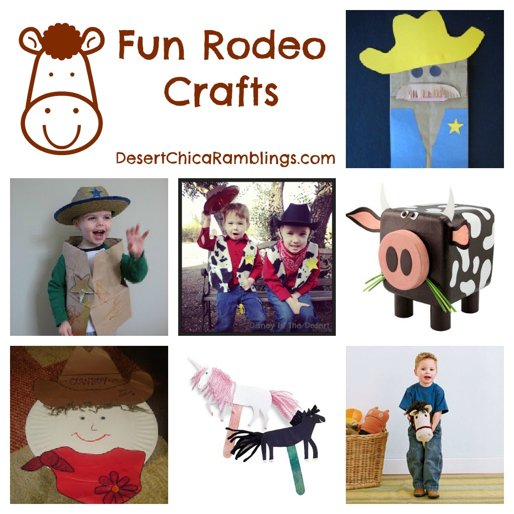 Rodeo Crafts Kids