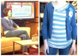 What I Wore On TV