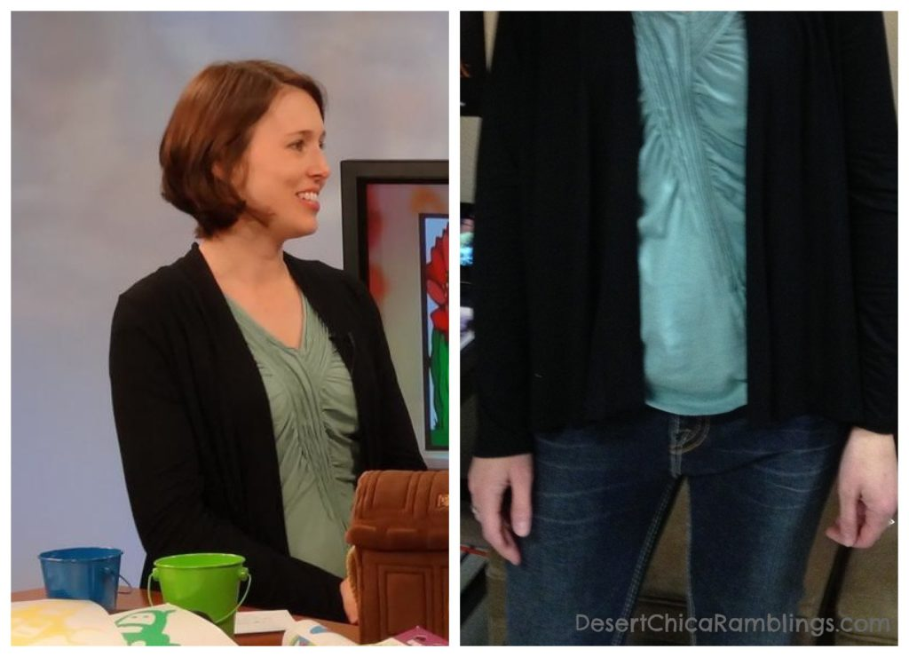 What I wore on tv 2 DCR