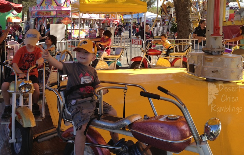 Pima County Fair 2013 Motorcycle Ride