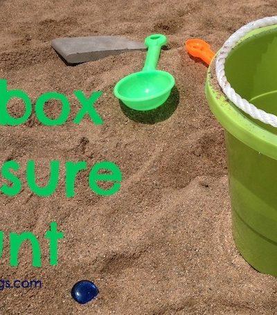 Create a Sandbox Treasure Hunt