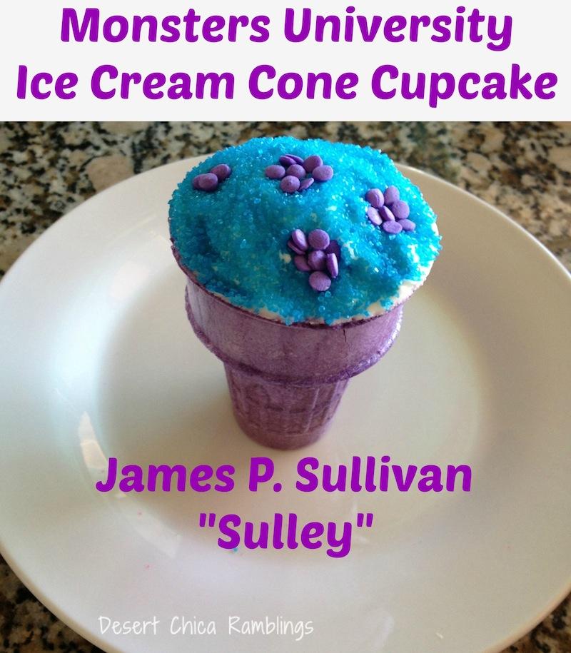 James P. Sullivan cupcake