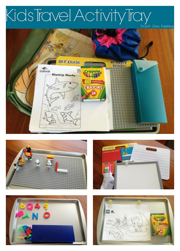 Kids Travel Activity Tray 3