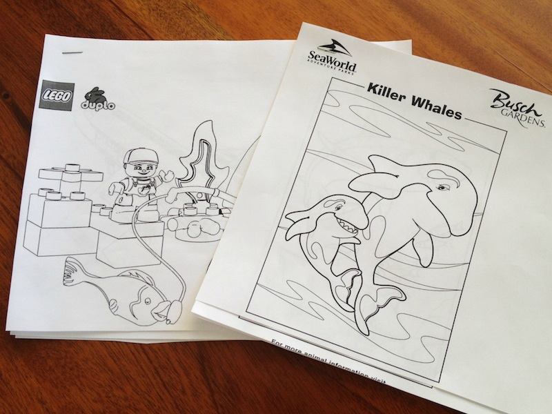 Trip Specific Travel Coloring Pages