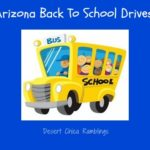 Arizona Back To School Drives 2013