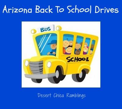Arizona Back to School Drives 2013