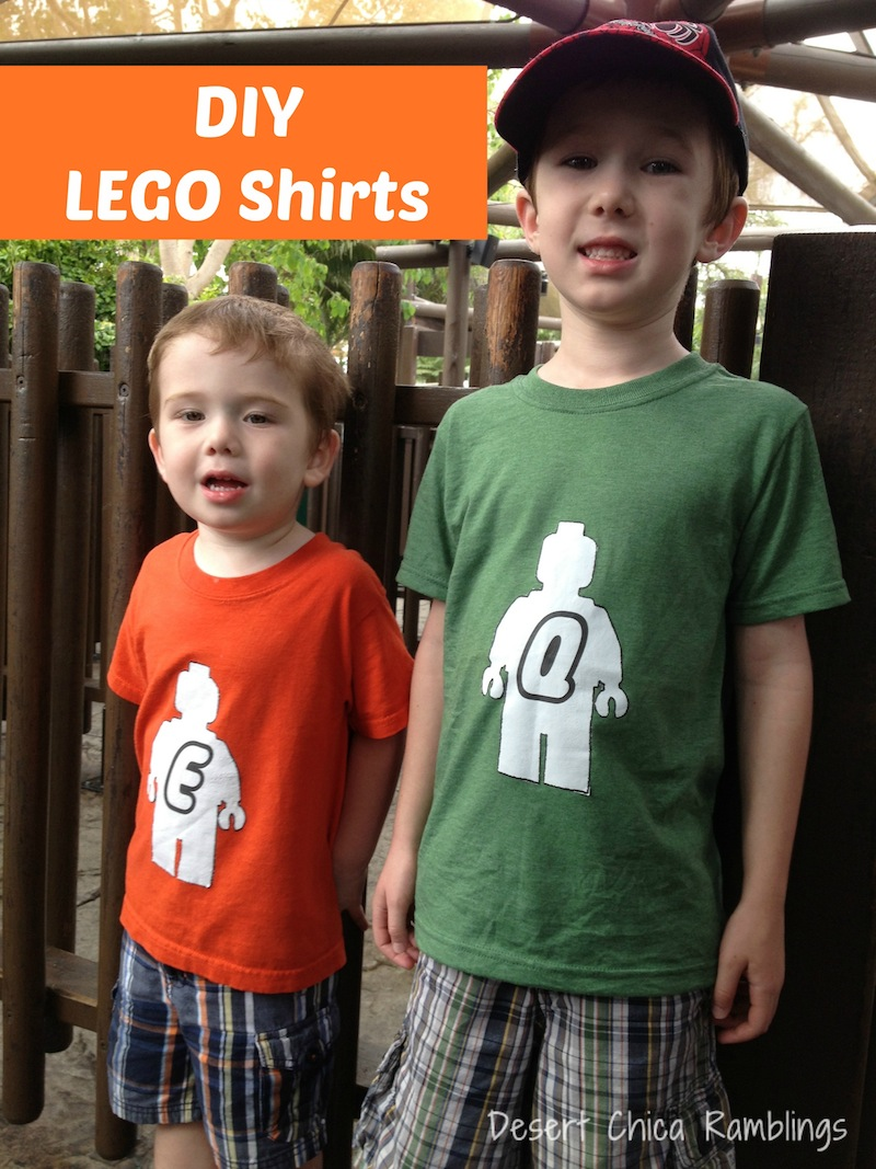 Diy Lego Shirts Free Template Desert Chica