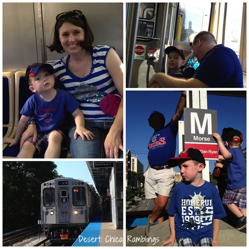 "Taking the ""L"" to Wrigley Field"