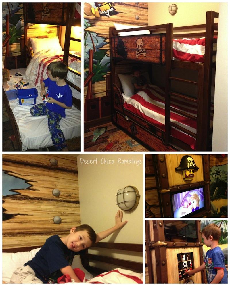 Peek Into Our Legoland Hotel Room Desert Chica