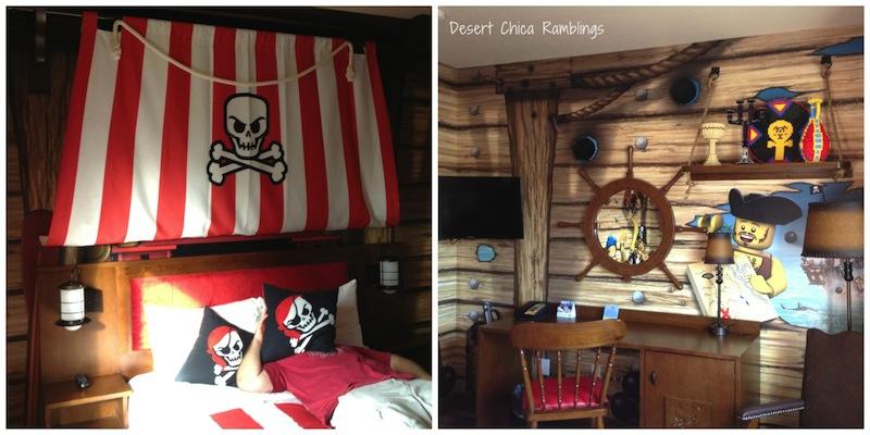 LEGOLAND Pirates Themed Hotel Room