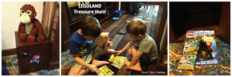 LEGOLAND ROOM Treasure Hunt