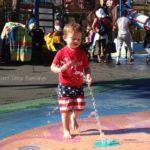 Water Fun with #HuggiesSwimmers!