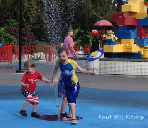 Legoland Splash Pad