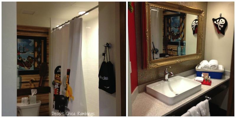 Legoland hotel bathroom