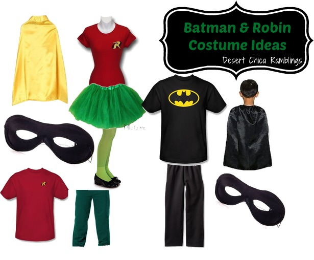 Batman and Robin Costume for Kids